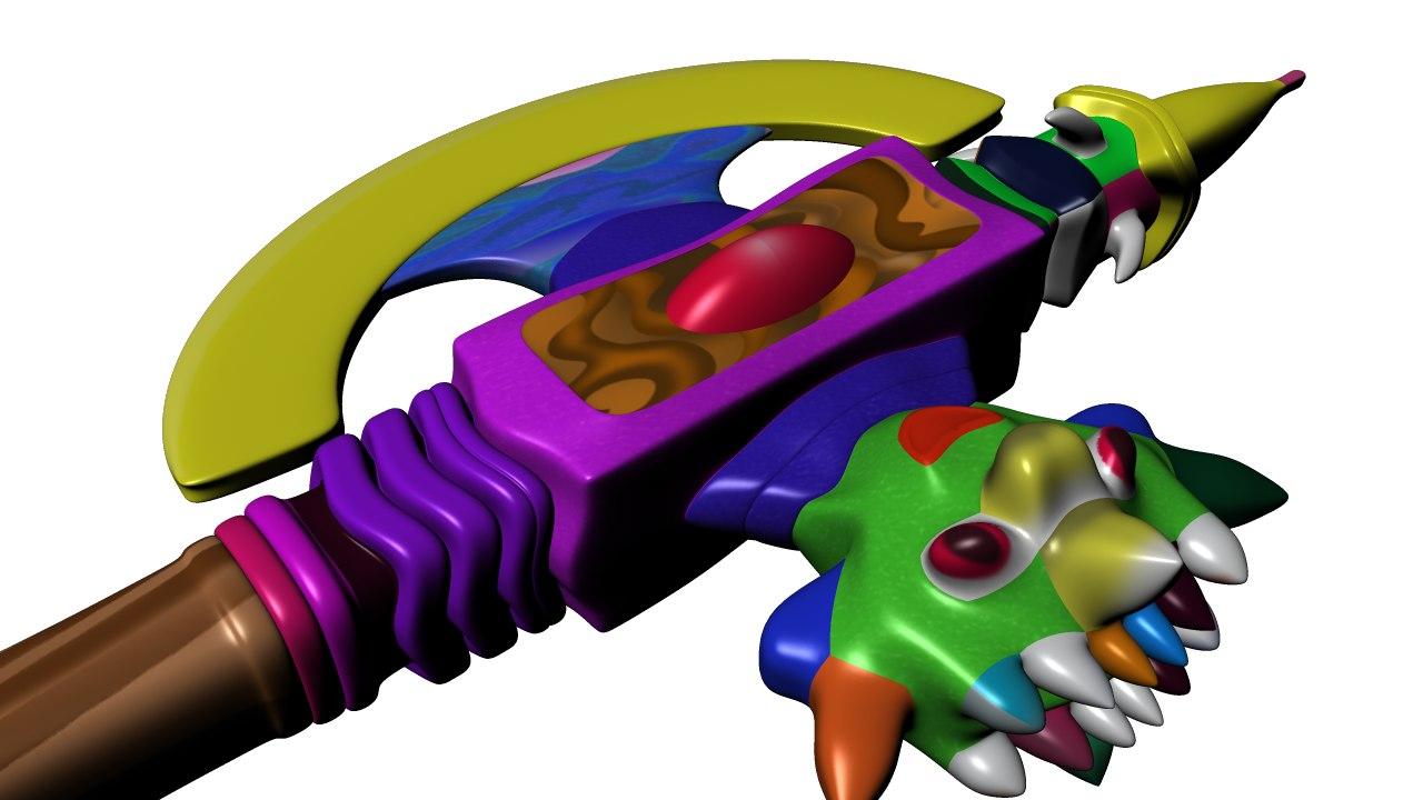 cartoon golden axe model