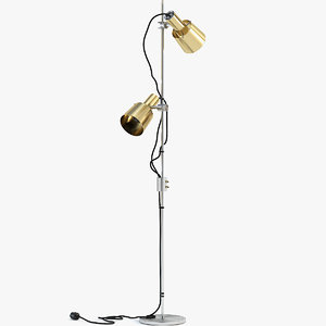 3D model chester floor lamp