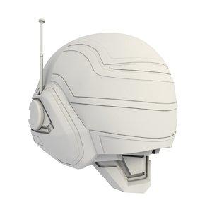 3D jaspion helmet printing