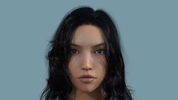 female body 3D model