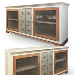 chest country club 8240 3D model
