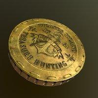3D 3 coin model