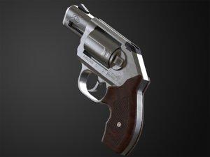 3D kimber k6s ready revolver