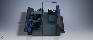 design carefully pieces 3D