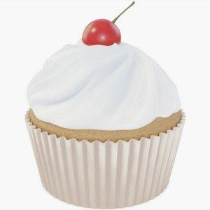3D cupcake cup cake