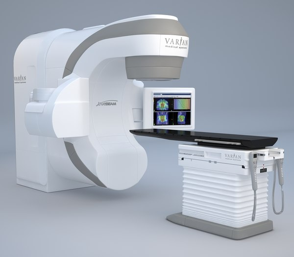 varian edge radiosurgery 3D model