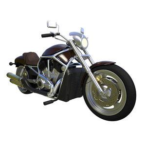 motor motorcycle cycle 3D