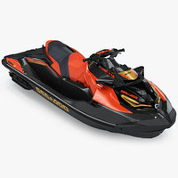 Sea-Doo RXT-X 300 Red Performance Watercraft 2019