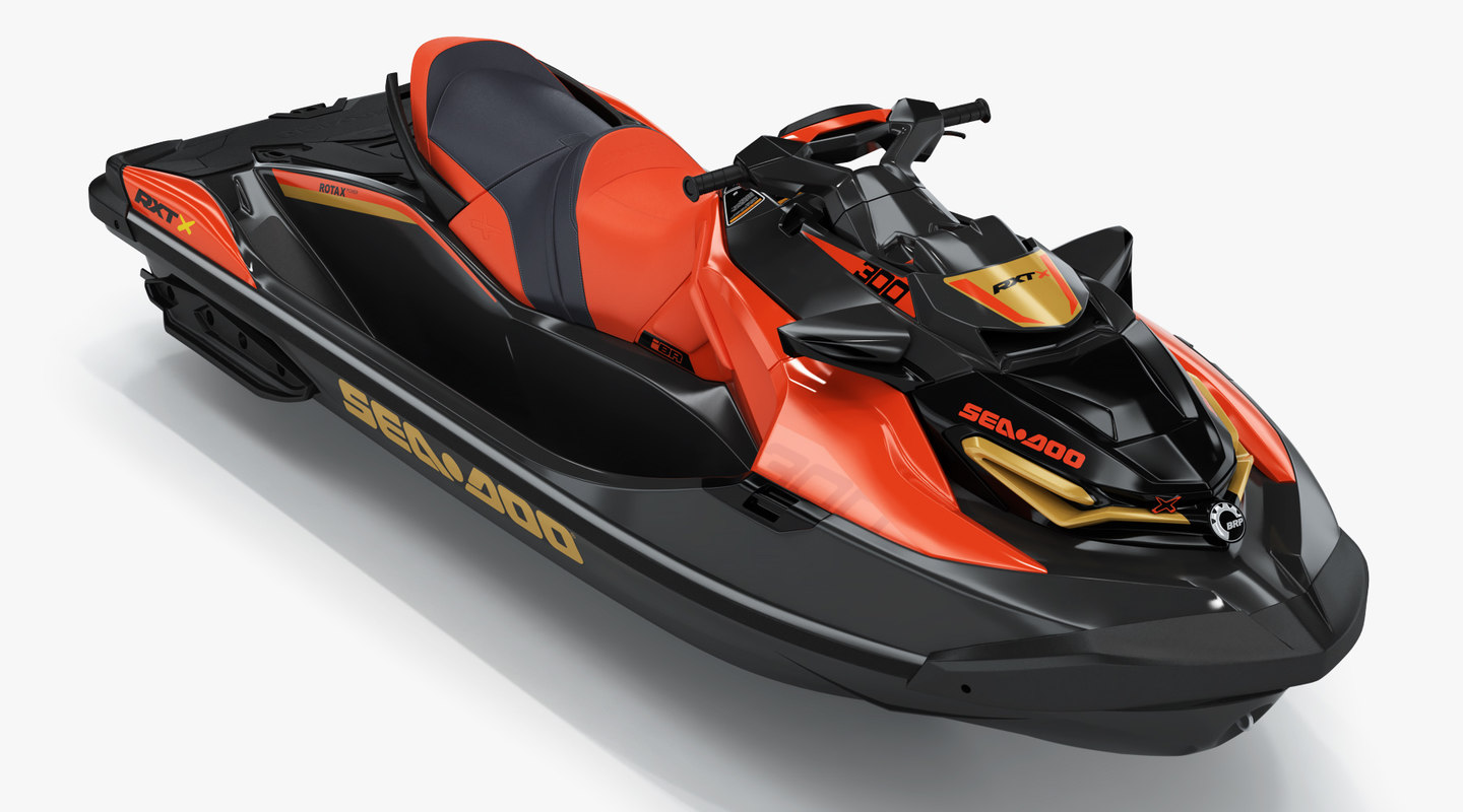Sea-doo Rxt-x 300 Red 3D Model