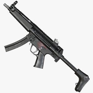 3D mp5a2 9mm model