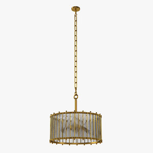 3D eichholtz 11113 chandelier model