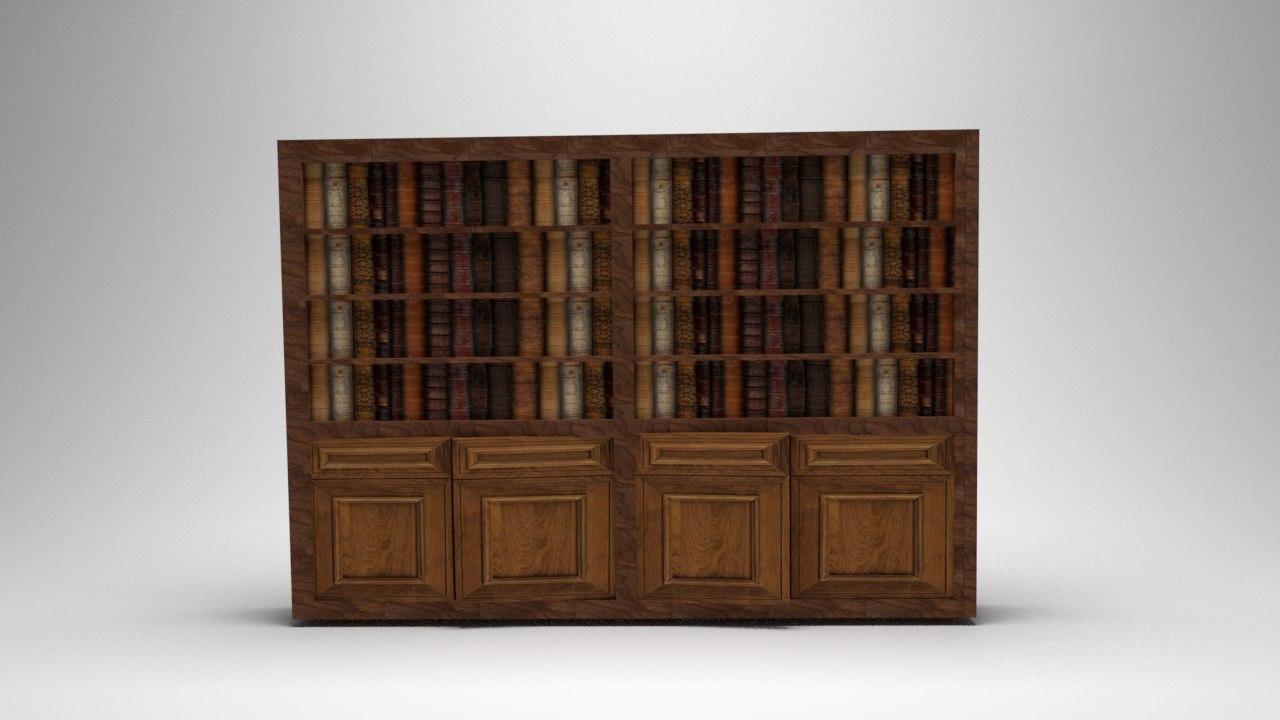 bookshelf shelf 3D model
