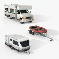 3D campers pack