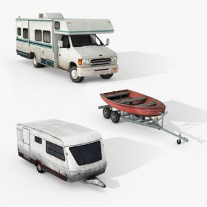 3D campers pack