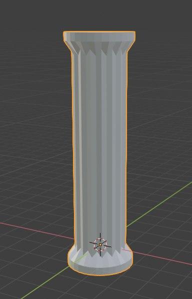 3D simple column