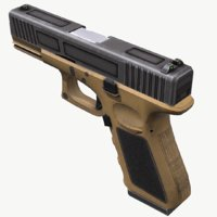 mobile ready glock 19 3D