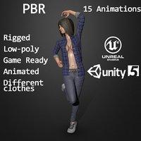 character cloths 3D