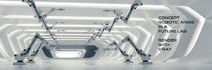 3D concept robotic arm