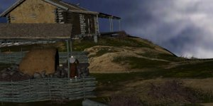 amazon ancient village 3D model