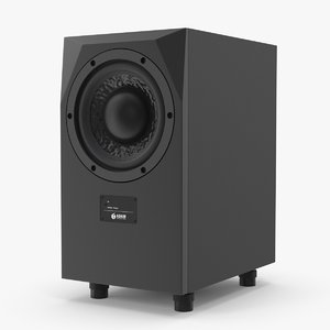 3D adam sub10 mk2 subwoofer model