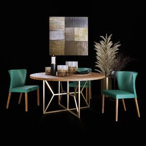 dining set decor model