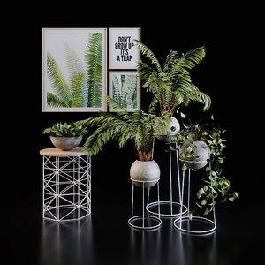 3D decoration set