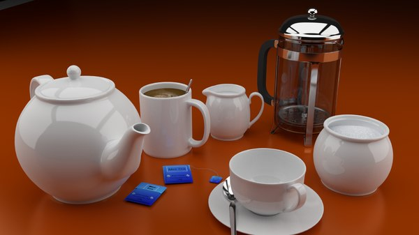 kitchen equipment 3D