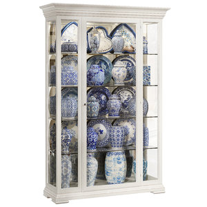 classical display cabinet 3D