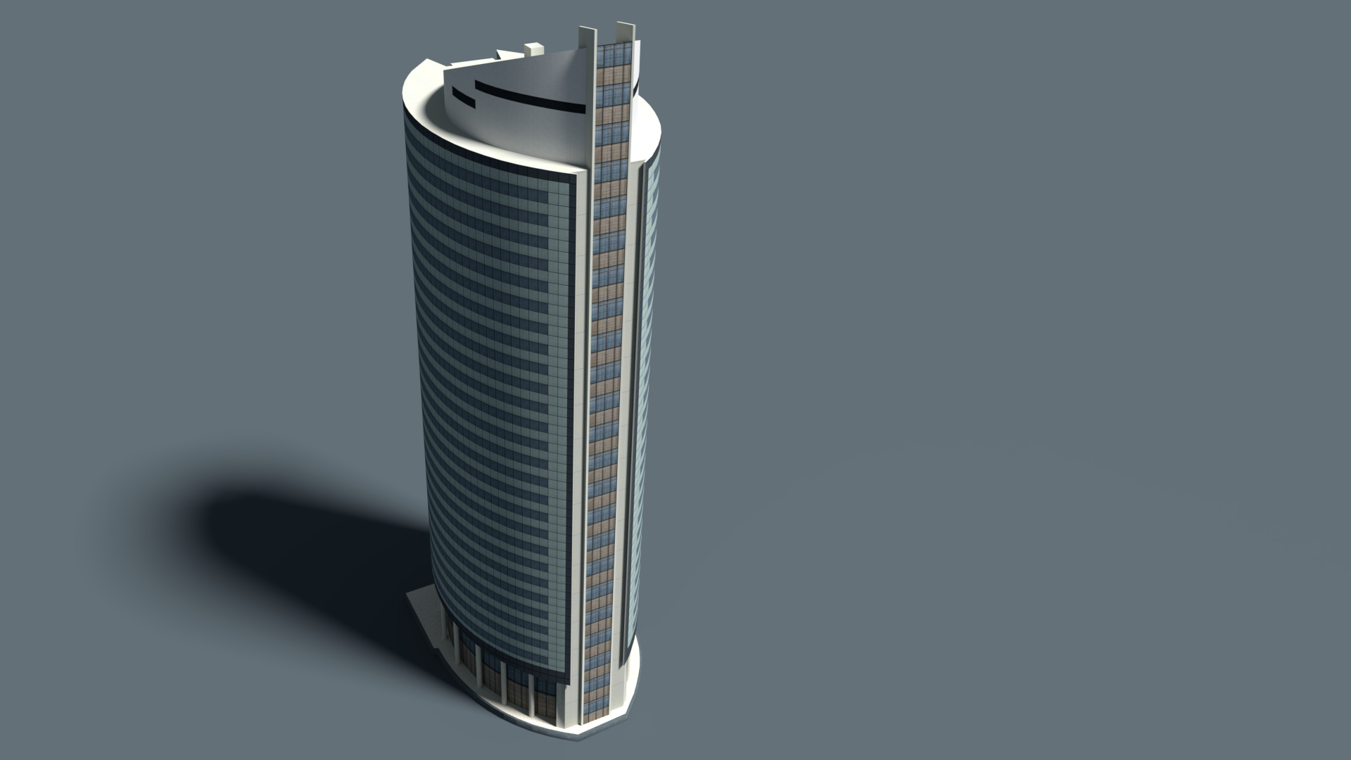 Modern building 3D model - TurboSquid 1406388