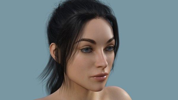 female body model