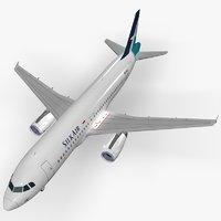 3D airbus silkair