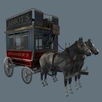 london omnibus 3D model
