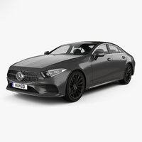 3D mercedes-benz cls-class cls model