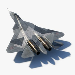 sukhoi su57 prototype 052 model