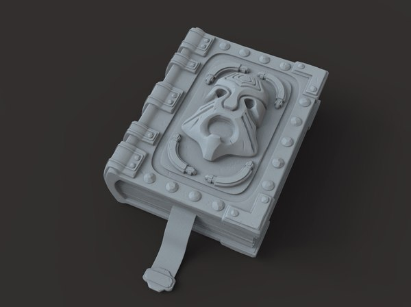 fantasy book 3D