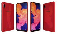 3D samsung galaxy a10 red