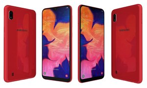 3D samsung galaxy a10 red