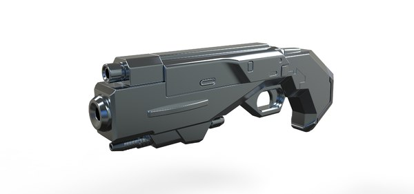 blaster mib international 3D model