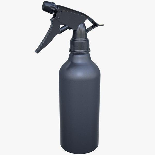 spray bottle sprayhead 3D model