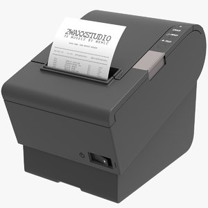 3D thermobondrucker epson cash receipt