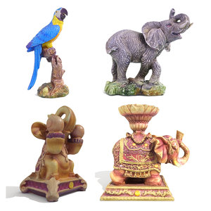 3D statuettes scanned pack 4 model