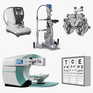 3D eye diagnosis surgery instruments