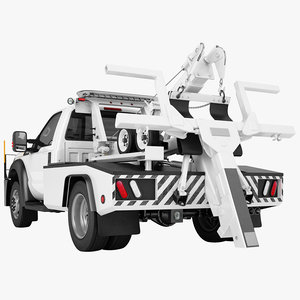 towing vehicle 3D model