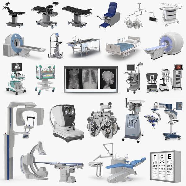 medical equipment 2 3D model