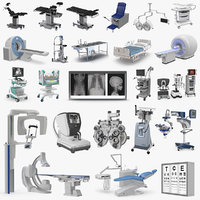 medical equipment 2 3D model