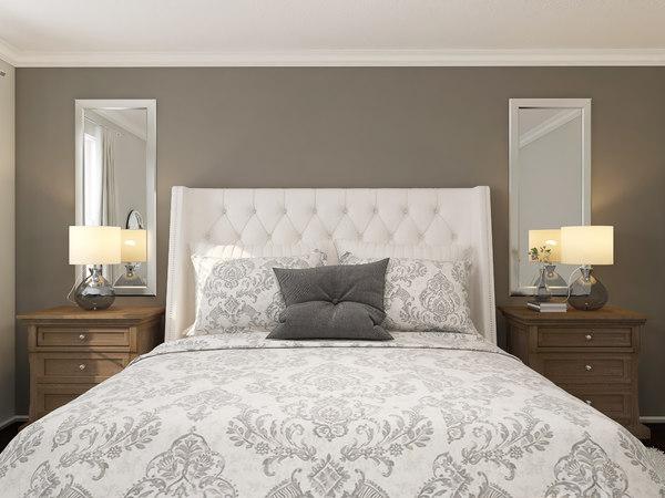 bedroom v14 3D model