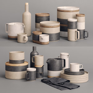 3D dishes hasami