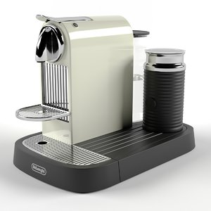 coffee nespresso longhi citiz 3D model