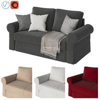 3D sofa ikea backabro model