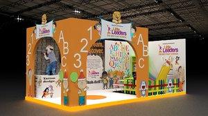 kids exhibition 3D model